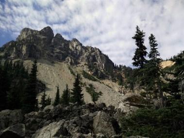 Looking Back @ Cathedral Peak