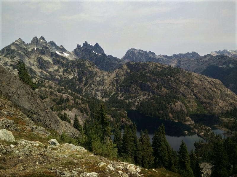 Ridge Lake to Small Tarn Mile 2,417.56