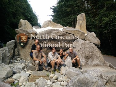 North Cascades NP with the Family