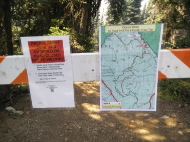 Cutthroat to Harts Pass Closure @ Harts Pass