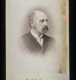 Hall & Lowe. Louis Riel North West Rebellion 1885, 1885. Photographic Print, (17.5 x 12.5 cm). CMH no. 996.2.23