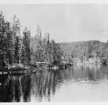 Flin Flon Lake, Date Unknown. Photograph. LAC e002713113