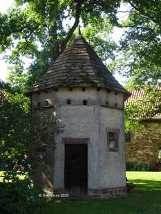 Taubenschlag im Schlosshof