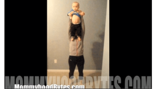 Workout Wednesday: Shoulder Press with Baby