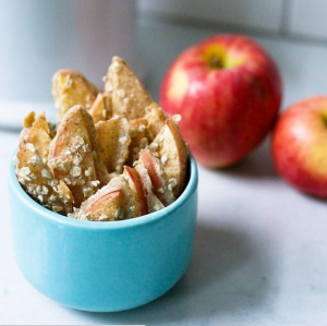 Healthy Apple Crisp Sticks Recipe to Celebrate Fall