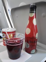 Little sangria on the plane