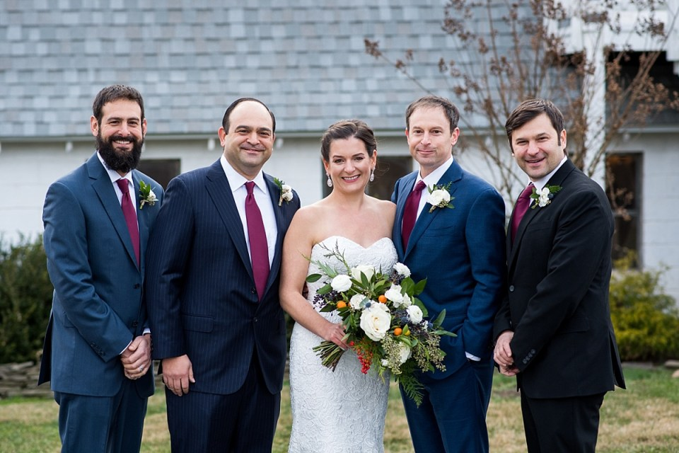 Winter Wedding at 48 Fields in Leesburg, VA