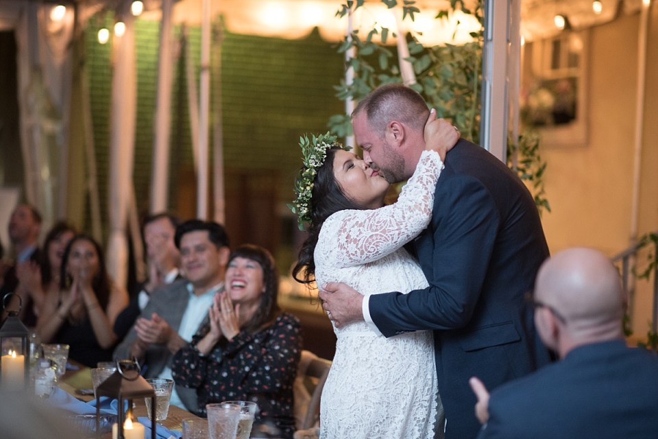 Wedding Reception at Carlyle House Wedding in Alexandria, VA by Erin Tetterton Photography