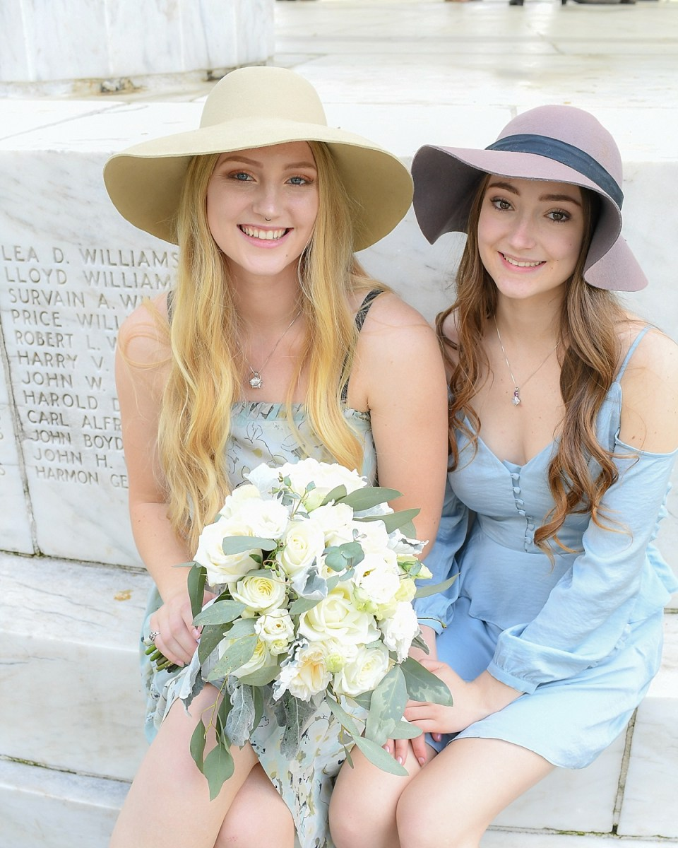 Wedding Guest Style at Washington DC War Memorial Wedding