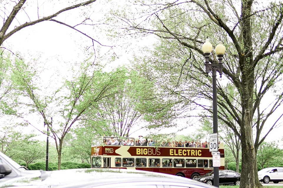 Wedding Favor Big Bus Tour of Washington DC