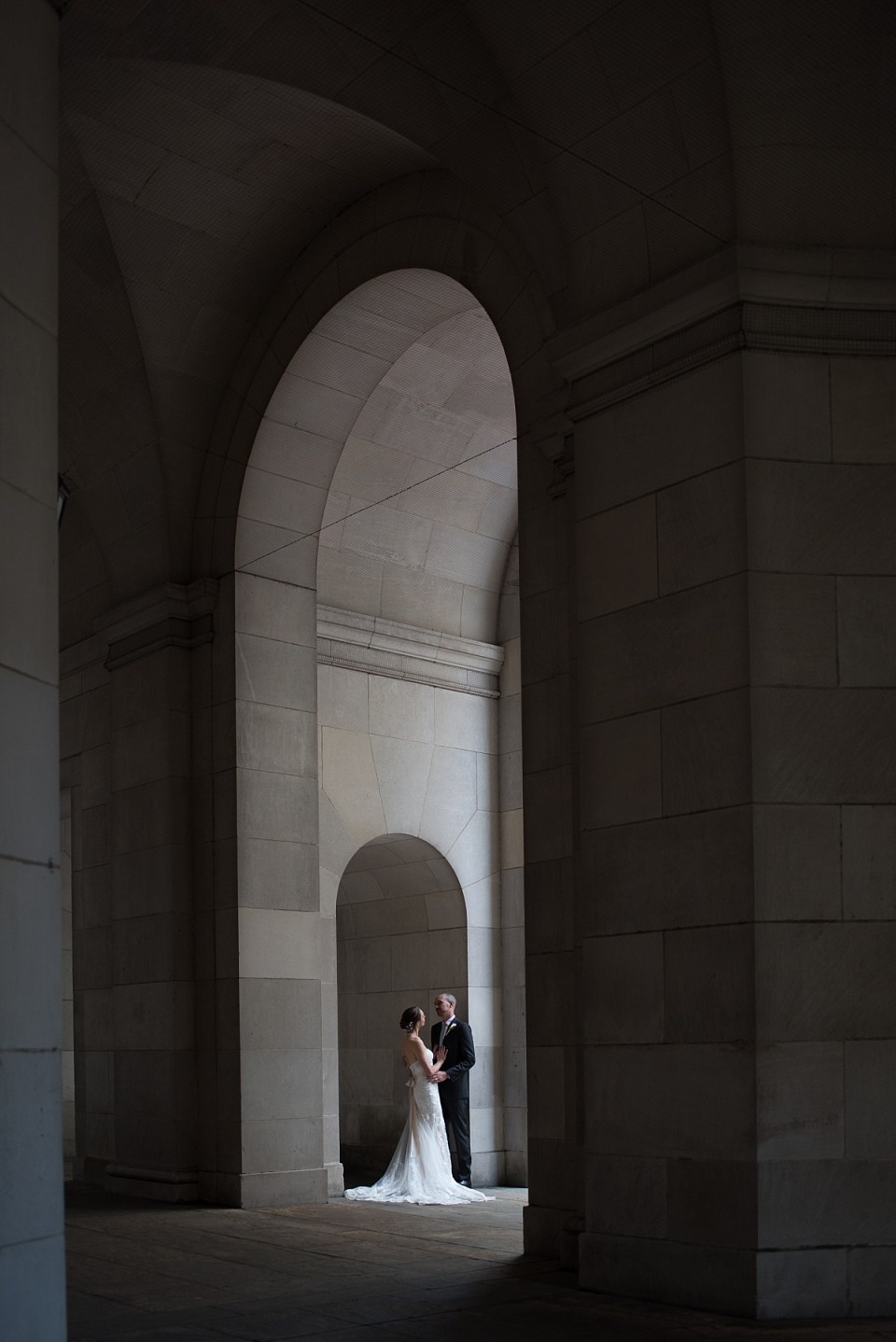 Wedding Photography at Federal Triangle Metro in Washington DC by Erin Tetterton Photography
