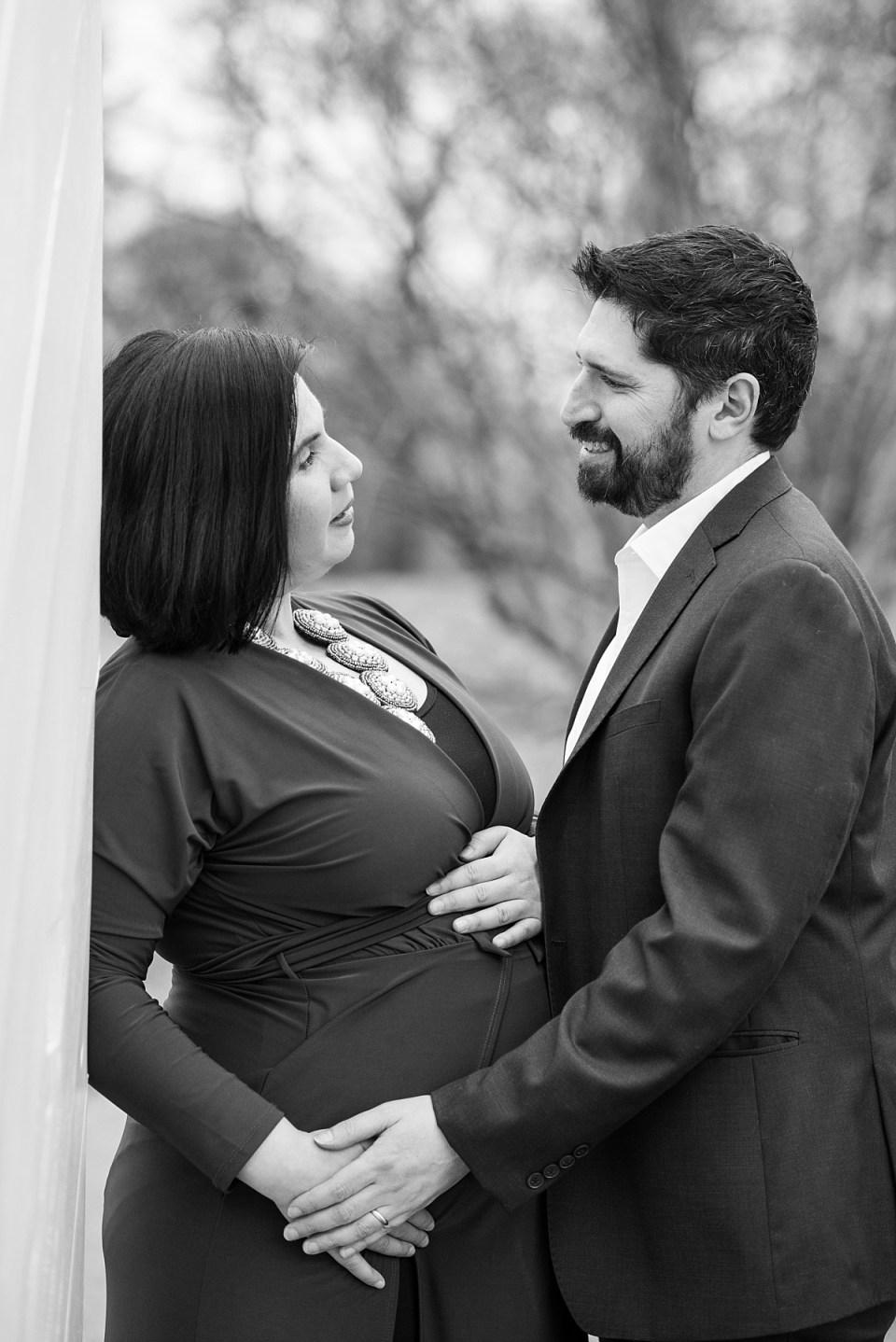 Maternity Photography at Ft. Ward Park in Alexandria, VA