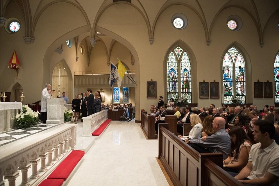God Parents at St. Mary's Catholic Church in Alexandria, VA