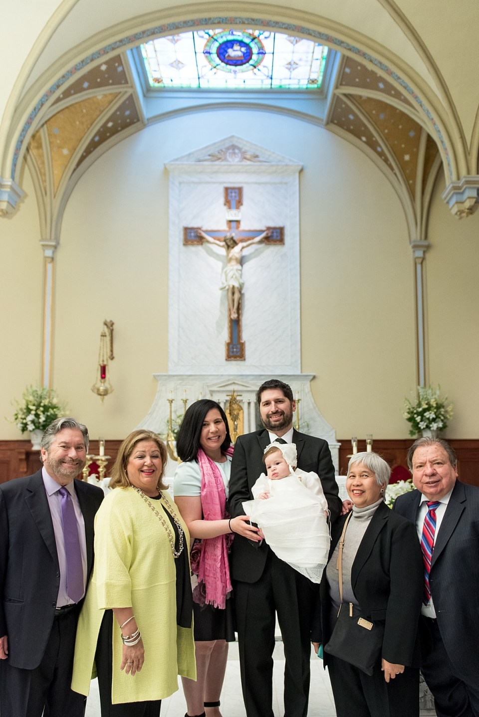Baptism at St. Mary's Catholic Church in Old Town Alexandria