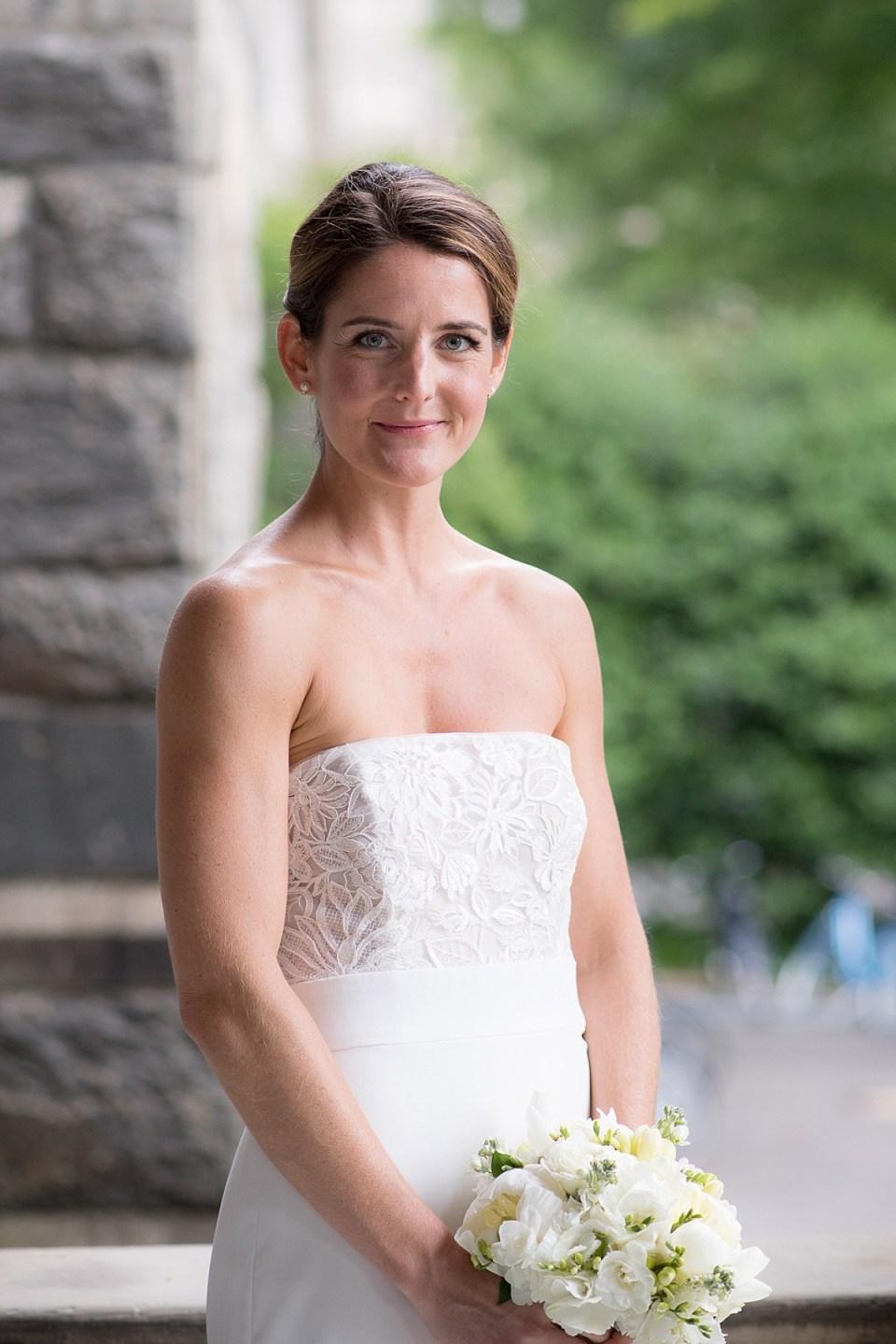 Wedding photos at Georgetown University