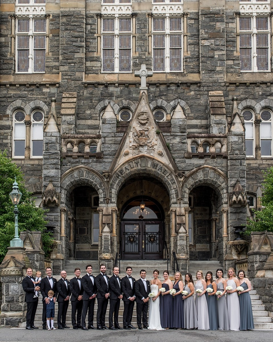 Georgetown University wedding photos