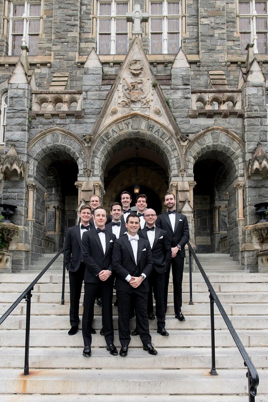 Georgetown University wedding photos