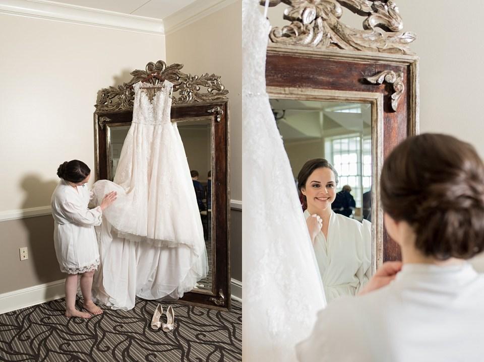 Bride Getting Ready at River Creek Club, Leesburg Wedding Photography