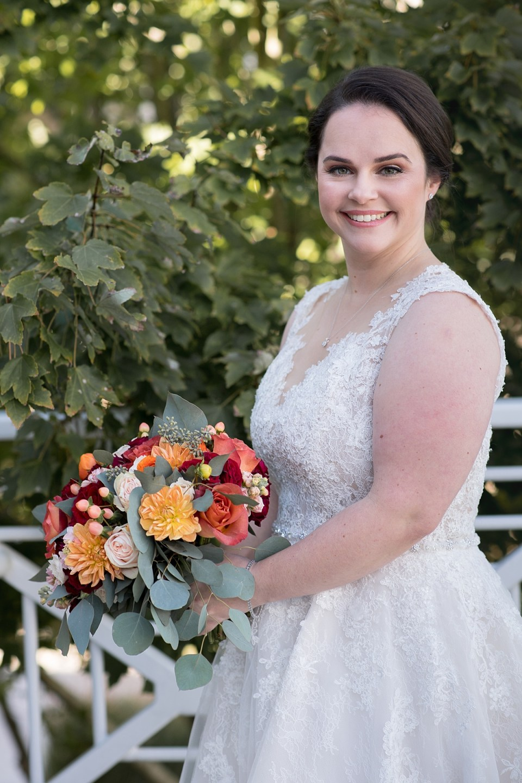Fall Wedding Flowers at River Creek Club in Leesburg, VA