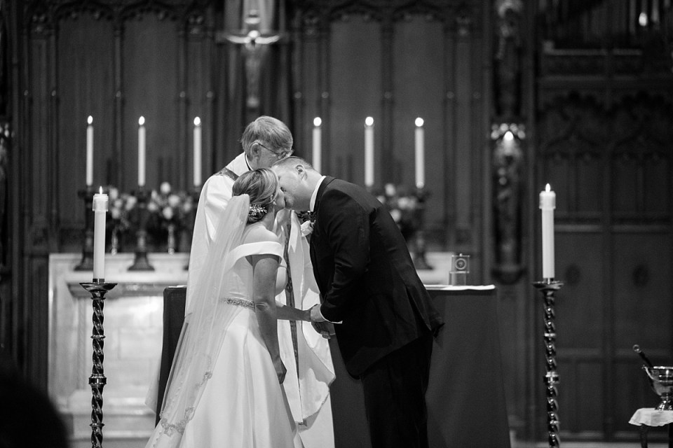 Blessed Sacrament Wedding Chevy Chase, MD