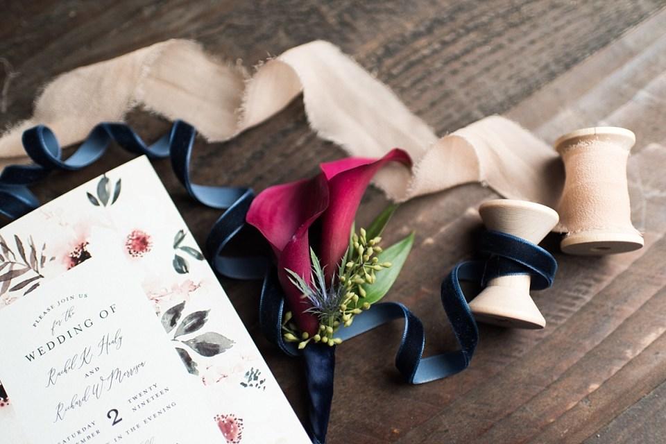 Bridal Details for 48 Fields Barn Wedding in Leesburg, VA