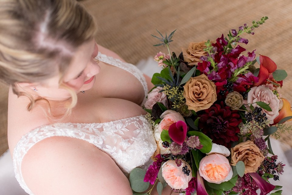 Bridal portraits at 48 Fields Wedding in Leesburg, VA