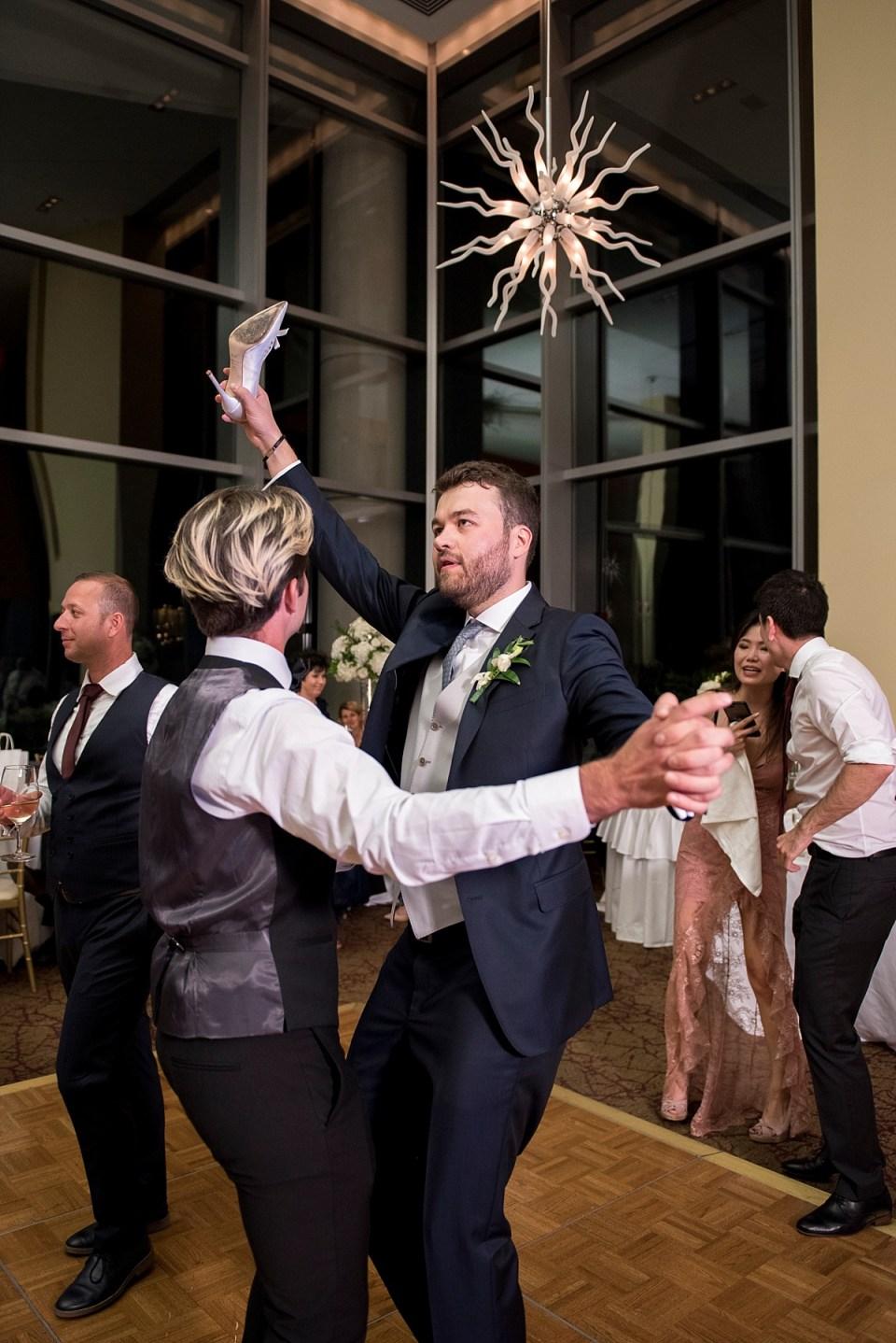 Armenian Wedding Tradition, Shoe Stealing