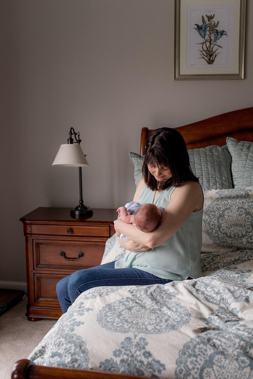 At Home Newborn Photogra in Arlington, VA by Erin Tetterton Photography