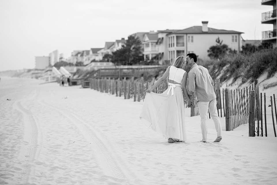 Beach Engagement Session in Pawleys Island SC