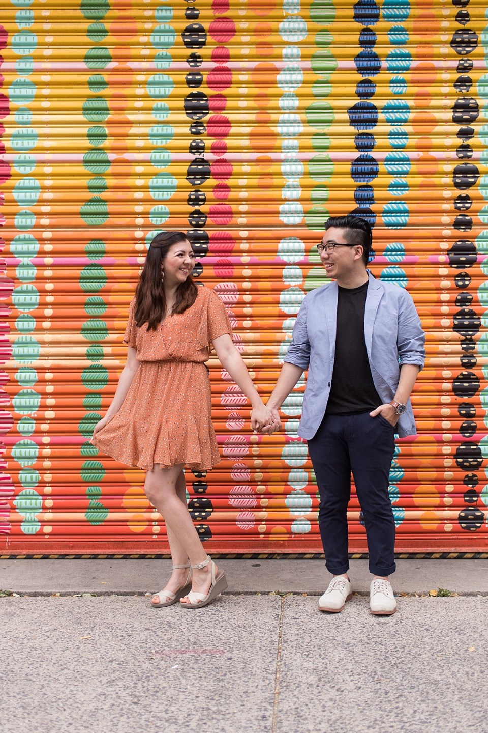 Engagement Session at the Torpedo Facotry in Alexandria, VA by Enagement Photographer, Erin Tetterton