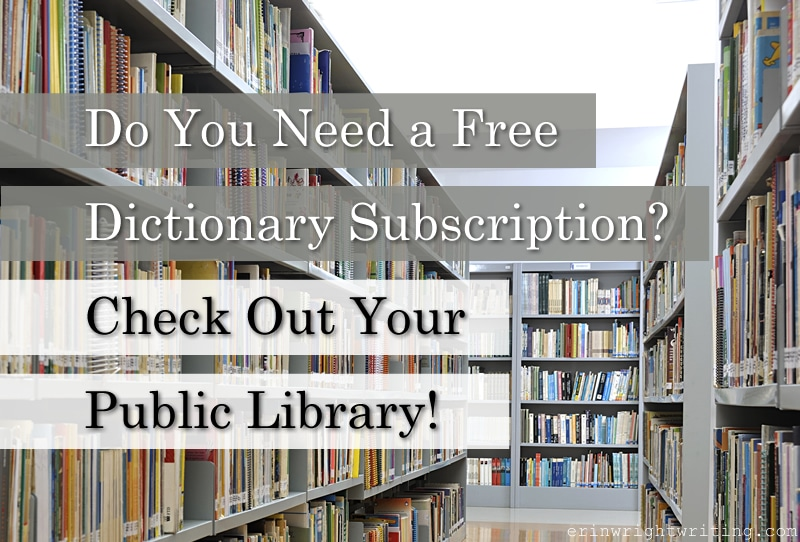 Image of Library Stacks | Do You Need a Free Dictionary Subscription? Check Out Your Public Library