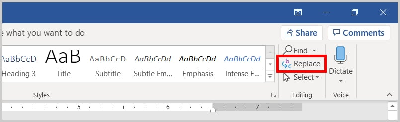 how to delete extra spaces in word step by step