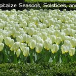 How to Capitalize Seasons, Solstices, and Equinoxes