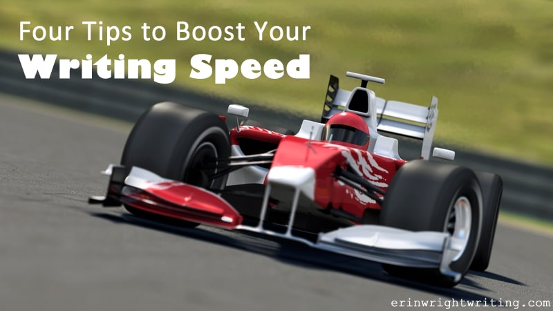 Four Tips to Boost Your Writing Speed | Race Car