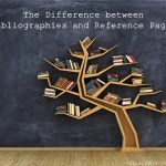 The Difference between Bibliographies and Reference Pages
