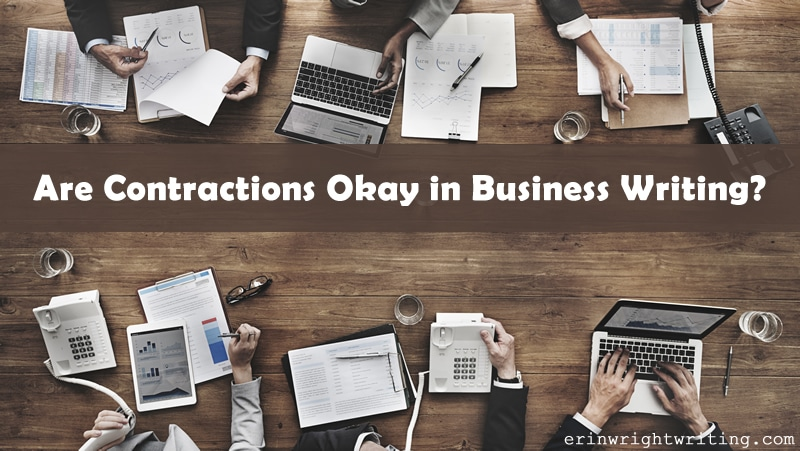 Are Contractions Okay in Business Writing?