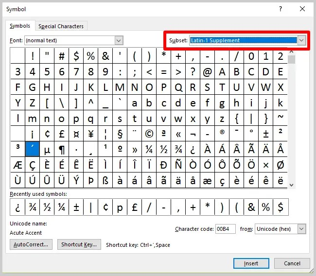 Three Ways to Insert Accent Marks in Microsoft Word Tutorial