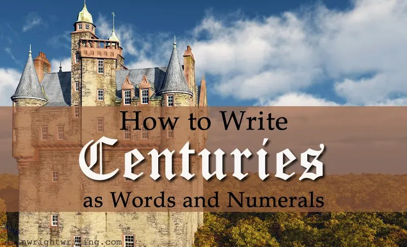 How to Write Centuries | Image of Irish Castle