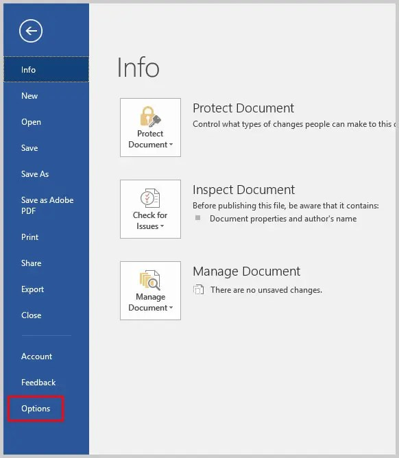 Word 2016 Backstage View Options | How to Use Microsoft Word 2016's Spelling and Grammar Check