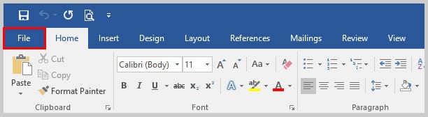 how to change page order in word 2016