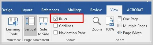 Word 2016 Ruler Option | Three Ways to Indent Paragraphs in Microsoft Word