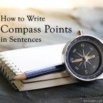 How to Write Compass Points in Sentences