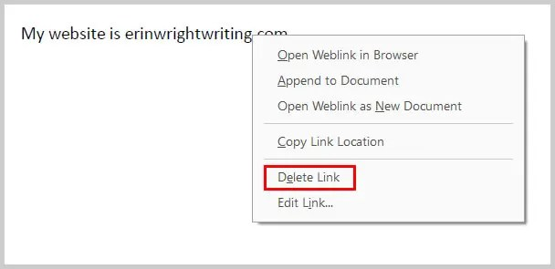 Image of Adobe Acrobat Delete Link Option | How to Create External Links in PDFs with Adobe Acrobat