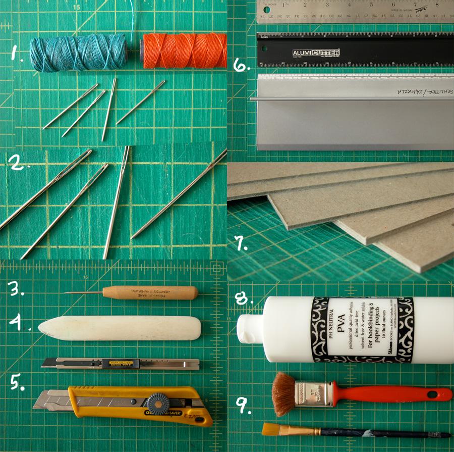 Erinzam News Blog Archive A Few Bookbinding Tools