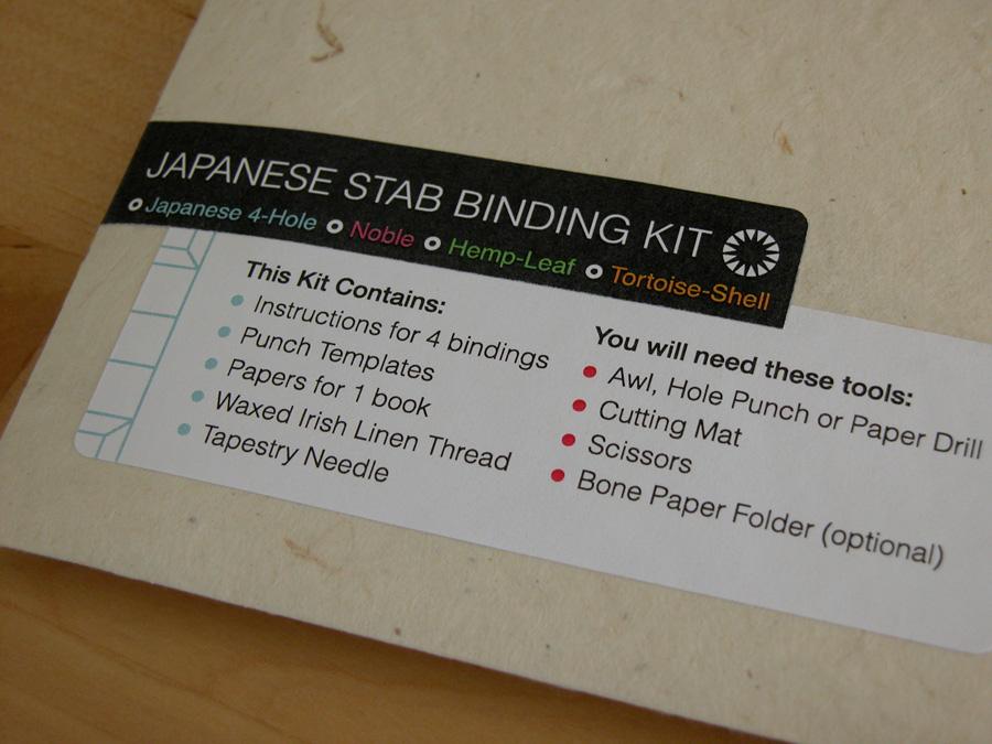 Erinzam News Blog Archive Japanese Binding Kit And
