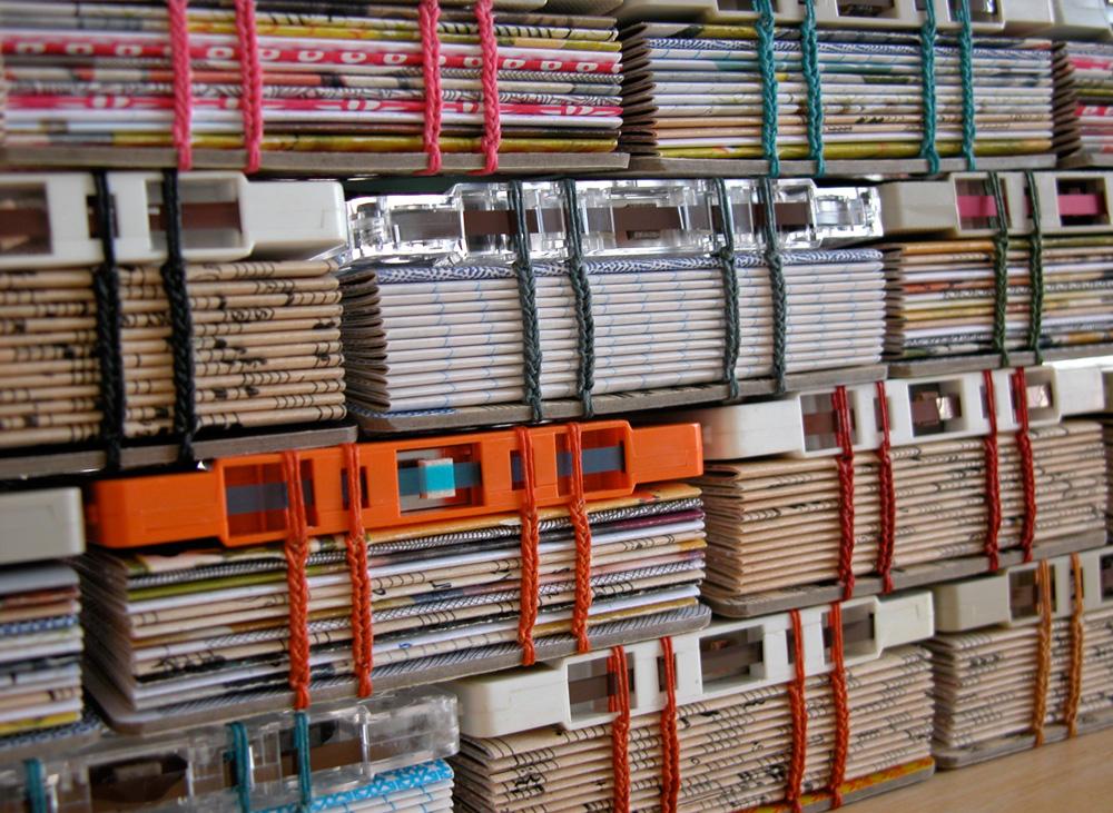 Cassette Tape Book Craftbnb