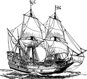 carrack ship illustration