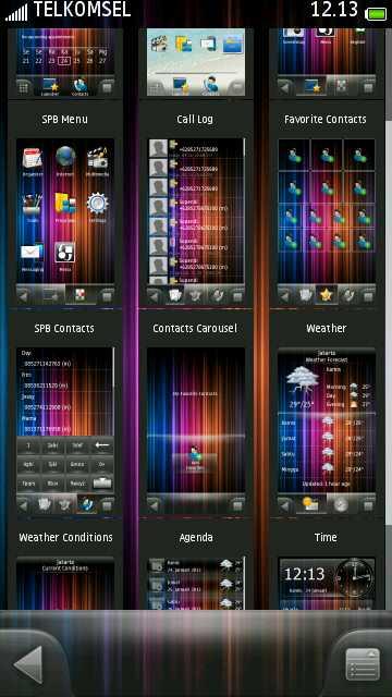 menu 2 SPB MobileShell v3.7.537 by erit07