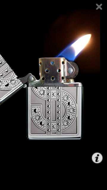 api bergerak Zippo Lighter by erit07