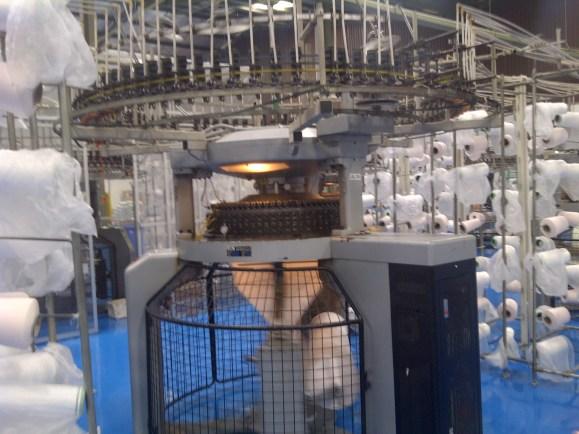 mesin pemintalan